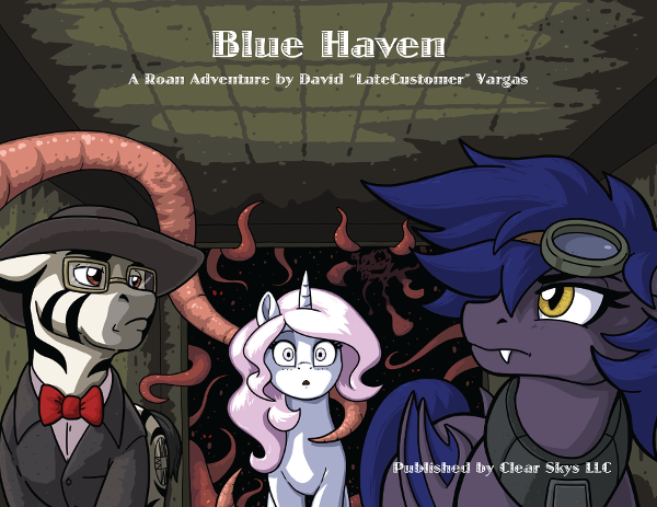 Roan - Blue Haven - Cover